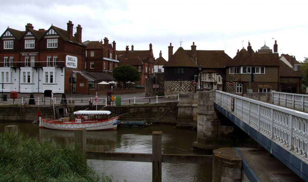 The Quay in Sandwich, Kent